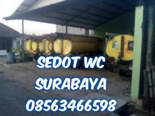 Sedot WC Kalianak Asemrowo Surabaya Barat