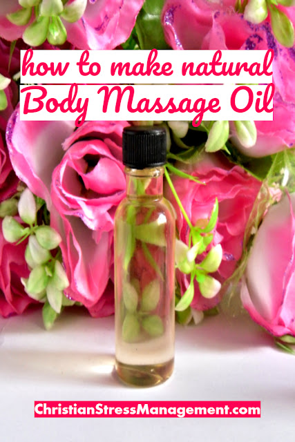 How to Make Natural Body Massage Oil with Essential Oils