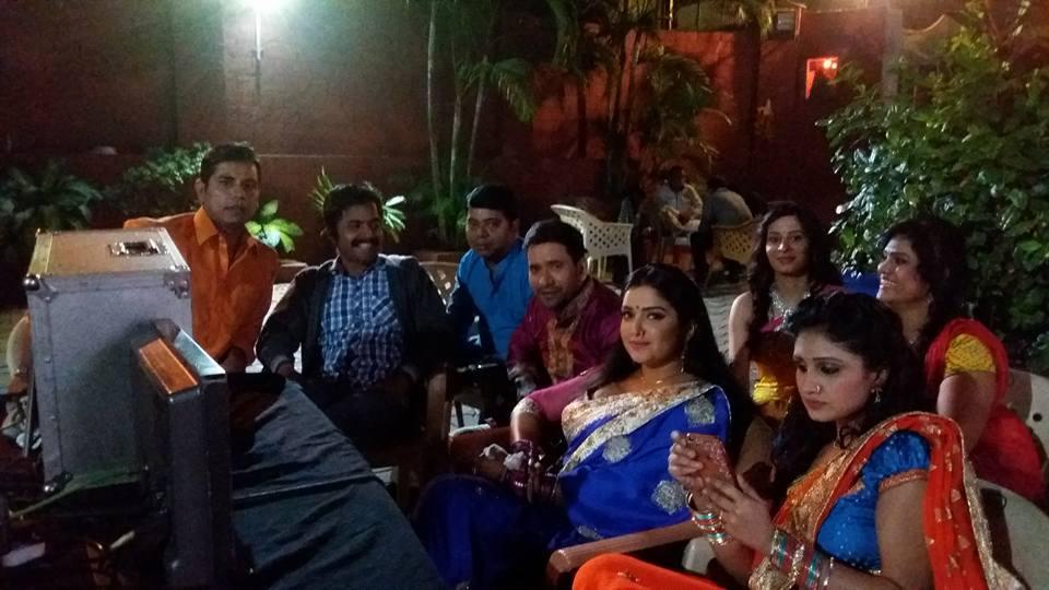 ON Set Bam Bam Bol Raha Hai Kashi pics
