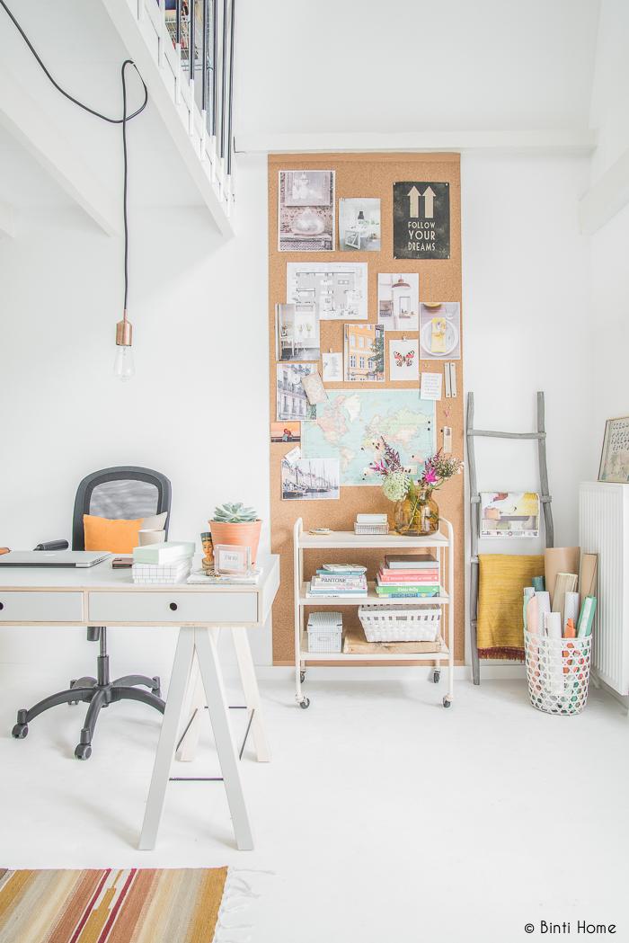interieurinrichting kantoor aan huis - binti home