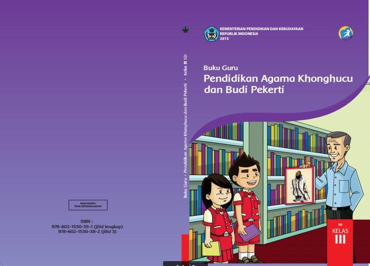 Download Gratis Buku Guru Pendidikan Agama Khonghucu dan Budi Pekerti Kelas 3 SD Kurikulum 2013 Format PDF