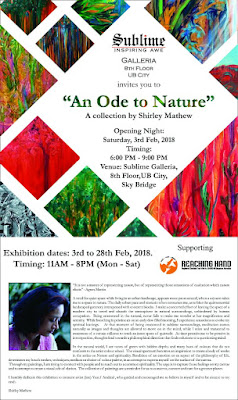 Art News: Ode To Nature - Shirley Mathew