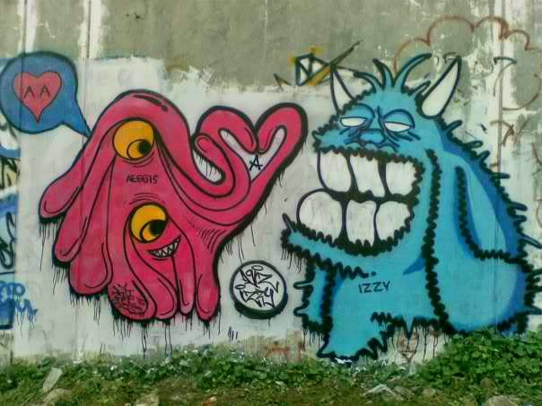 graffiti cartoon art