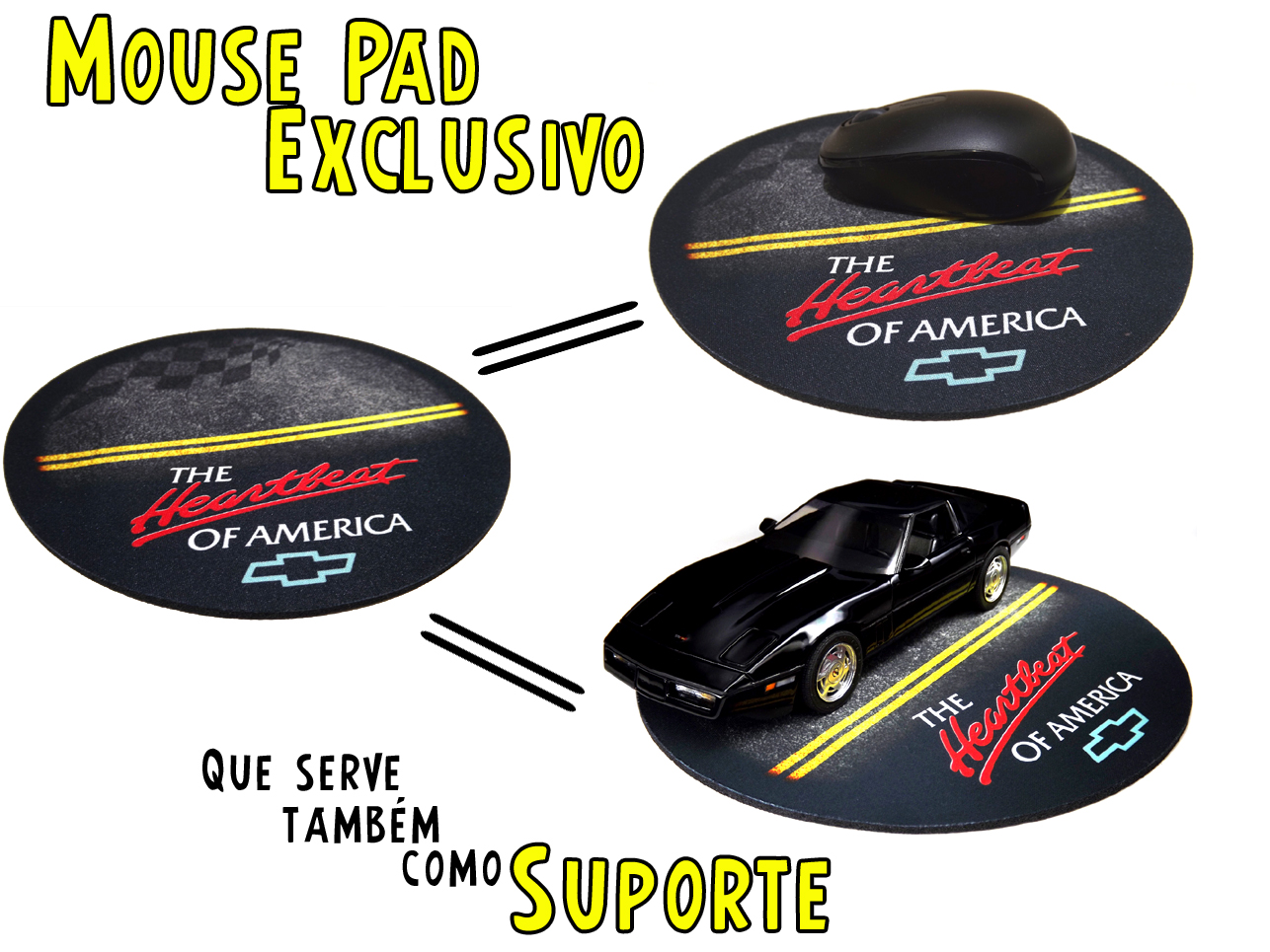Mouse Pad Exclusivo / Suporte