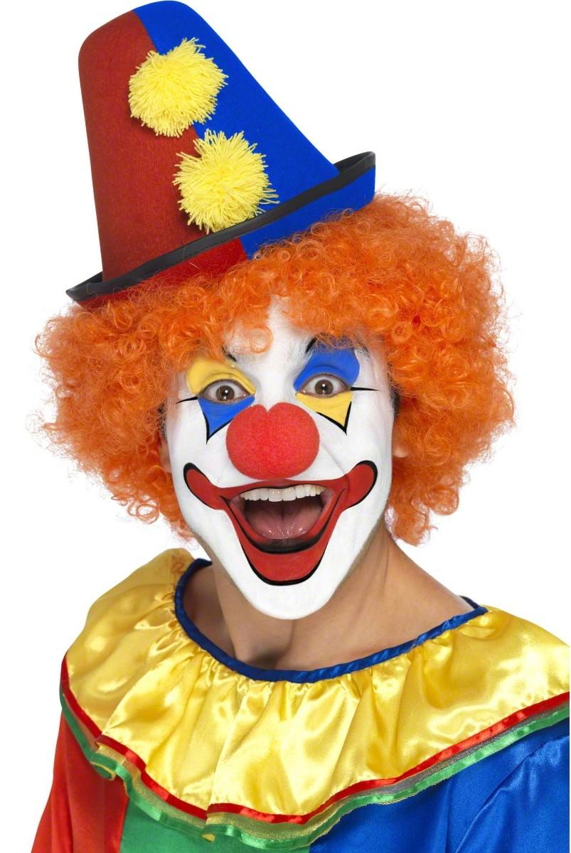 happy clown faces pictures - 736×1099