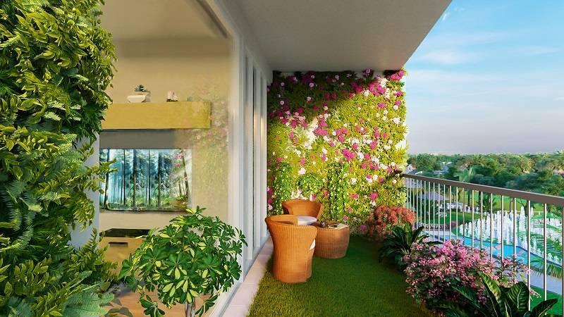 Ngoại thất căn hộ Imperia Sky Garden