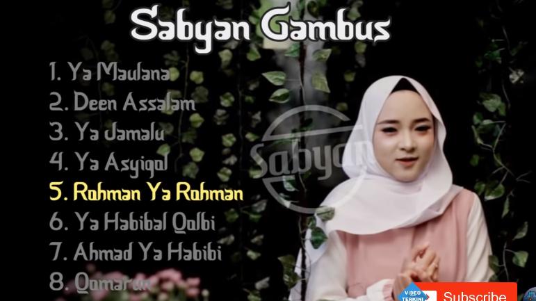 Download Full Album Sabyan Gambus Mp3 Terbaru 2018 Bikin Hati Tersentuh,Nissa Sabyan, Lagu Religi, Lagu Sholawat, Album Nonstop Mp3, 2018