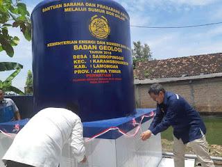 Layanan Air Bersih Jangkau 18 Desa di Pantura Jawa Timur