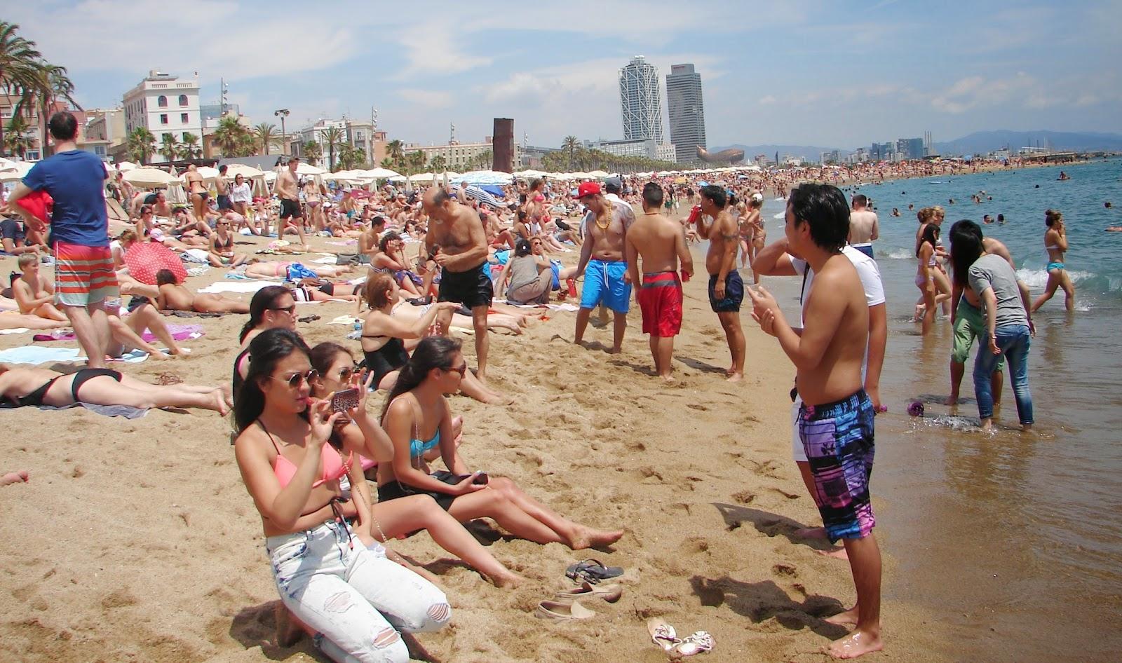 Barcelona Nude Beach-3572