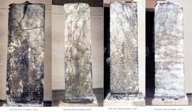 Prasasti sdok kak Thom adalah bukti upacara keagamaan dan penolak bencana