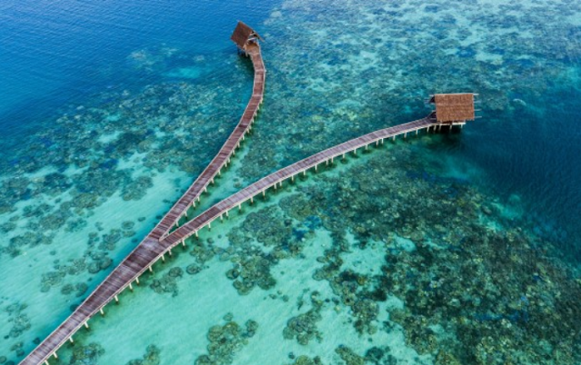 7th Heaven Nature Indonesia is more beautiful than Maldives, Cool!