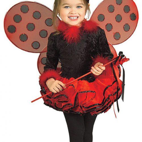 disfraz de mariquita para carnaval