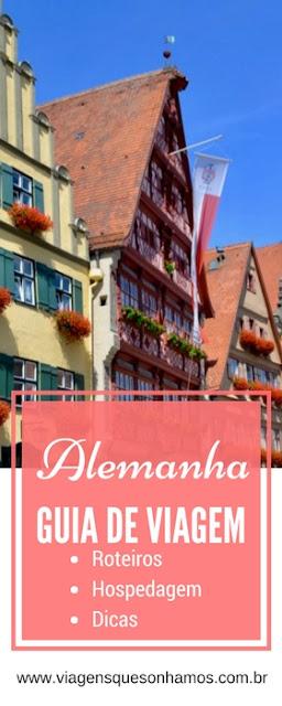 Dicas sobre a Alemanha, roteiros, onde se hospedar, passeios