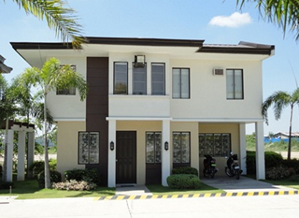 New home designs latest modern homes exterior designs for House color design exterior philippines