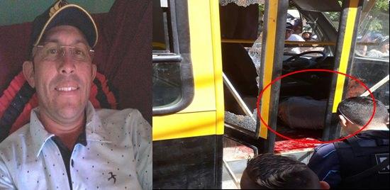 Motorista de ônibus escolar de Icó é assassinado na frente de alunos