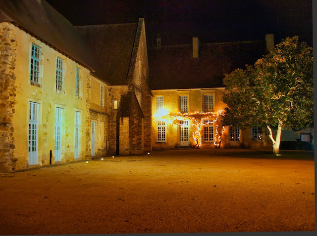 jiemve, Abbaye, Epau, lumières, illuminations, logis abbatial