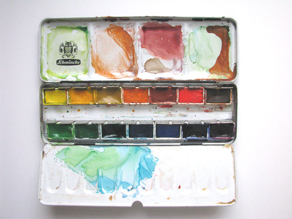 Guess Who This Paintbox Belongs To