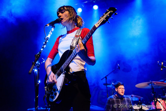 Cherry Glazerr at The Danforth Music Hall in Toronto, February 22 2016 Photos by John at One In Ten Words oneintenwords.com toronto indie alternative music blog concert photography pictures
