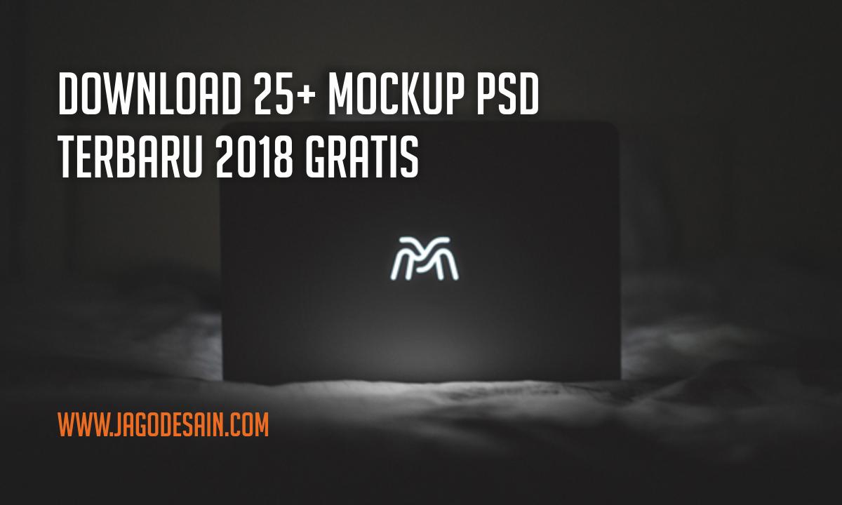 Download 25+ Mockup PSD 2018 Terbaru Gratis
