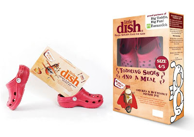 Barnados Big toddle, little dish, little dish shoes, giveaway