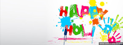 Colourful Happy Holi Picture
