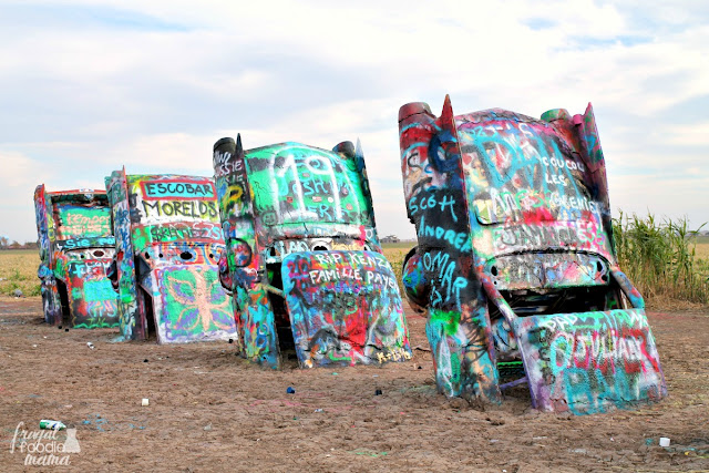 Standing as a tribute to the classic cars that once cruised up & down Route 66, Cadillac Ranch is by far one of Amarillo's most popular tourist attractions.