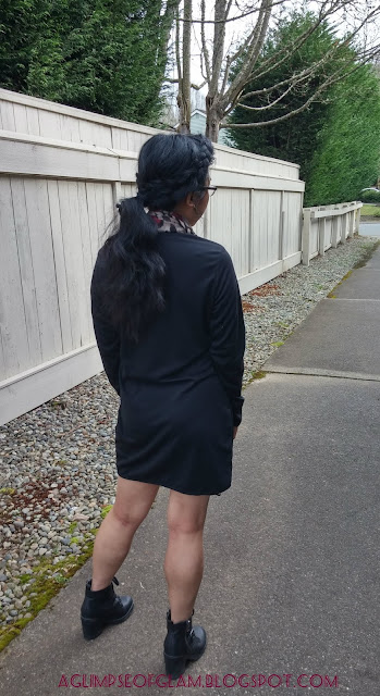 Banggood review black dress aglimpseofglam Andrea Tiffany