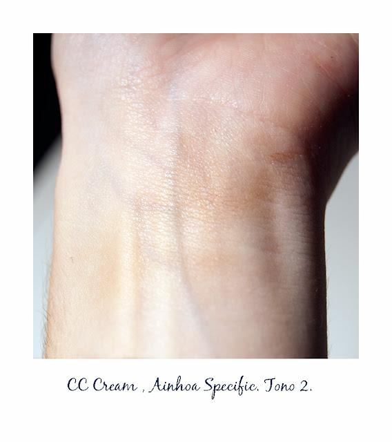 CC Cream de Ainhoa Cosmetics. Be fashion. Be beauty. Blogger belleza y moda de tarragona