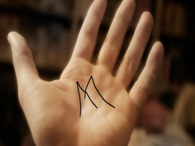 What M Indicates in palmistry