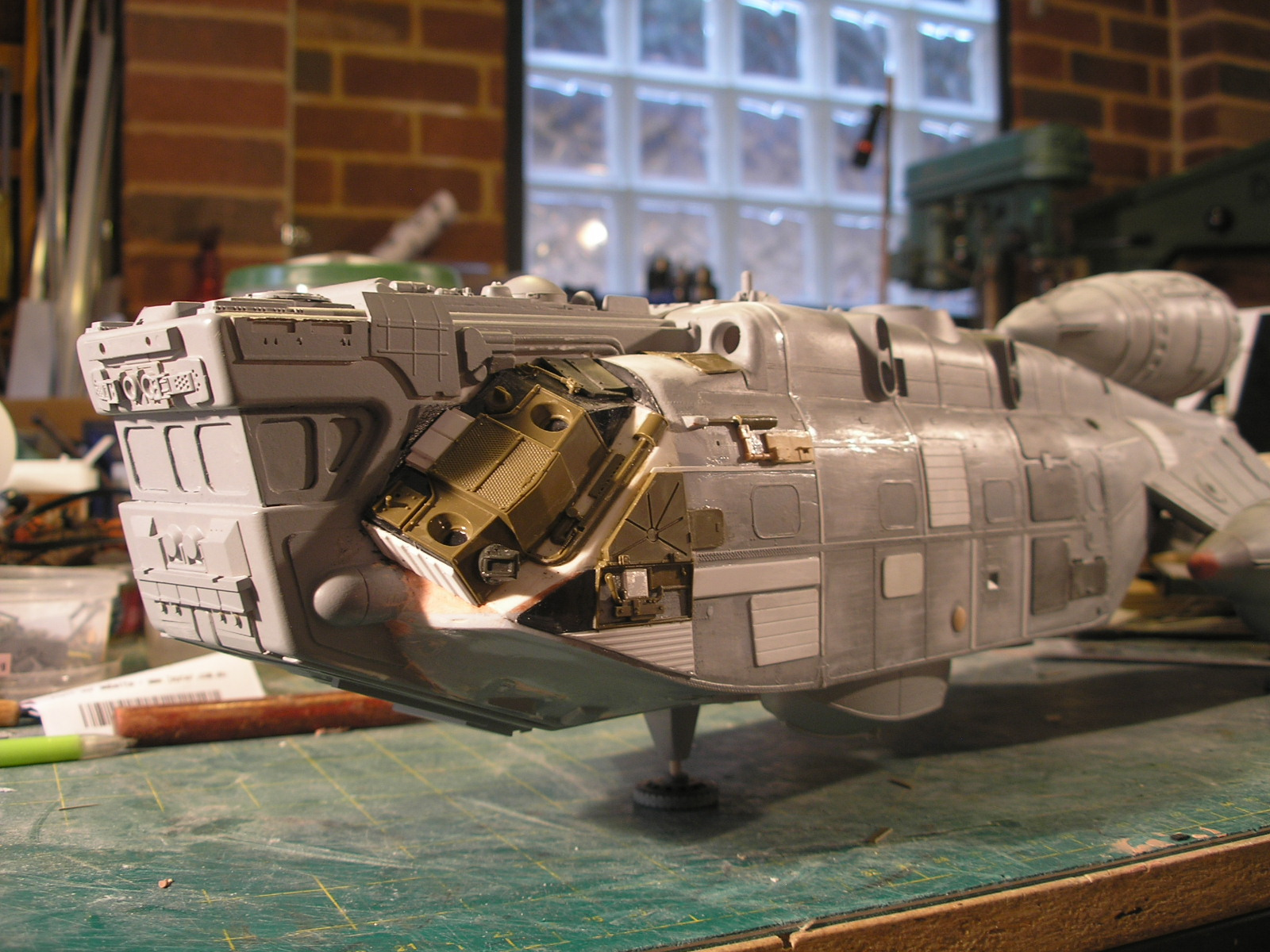star cruiser rc helicopter with Kit Bash Shuttlecraft Part 4 on Showthread moreover 2012 10 01 archive together with 787 facts further 552746554244835873 in addition 395006.