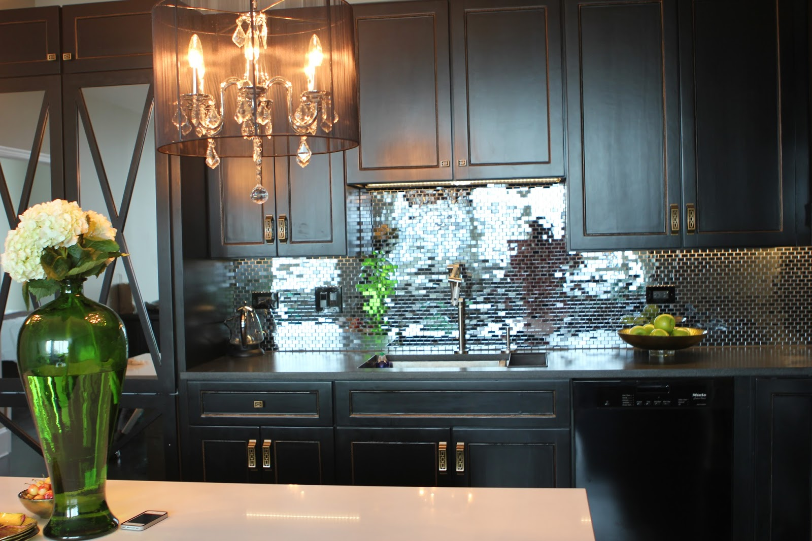 Romancing The Home Glam Kitchen In The City