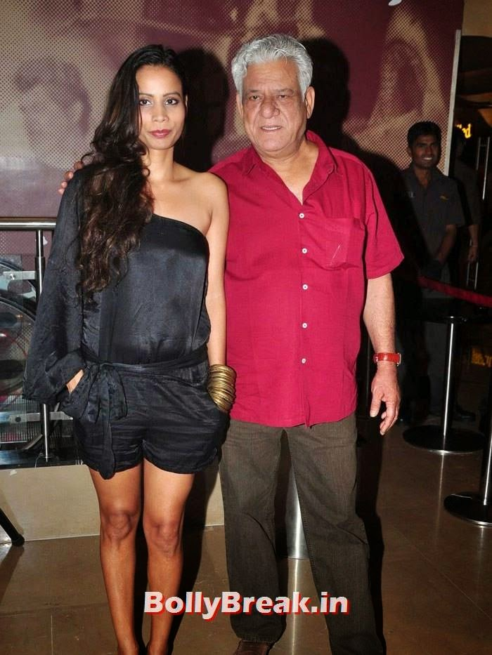 Pooja Pradhan, Om Puri, 'The Hundred-Foot Journey' Movie Special Screening