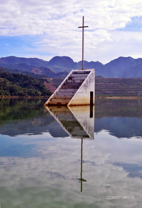 Lake Mapanuepe Sunken Church