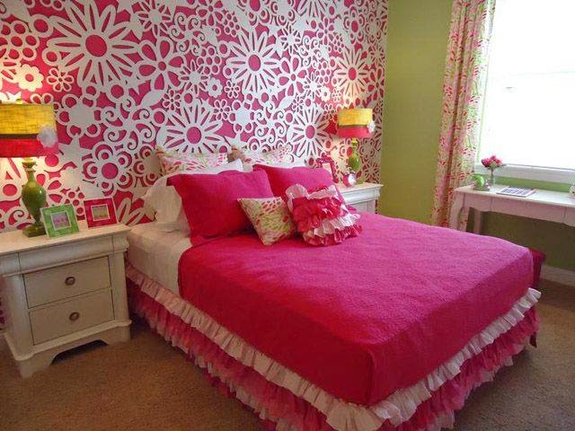 Teenage Rooms: Pretty Pink Bedroom Styles For Young Girls