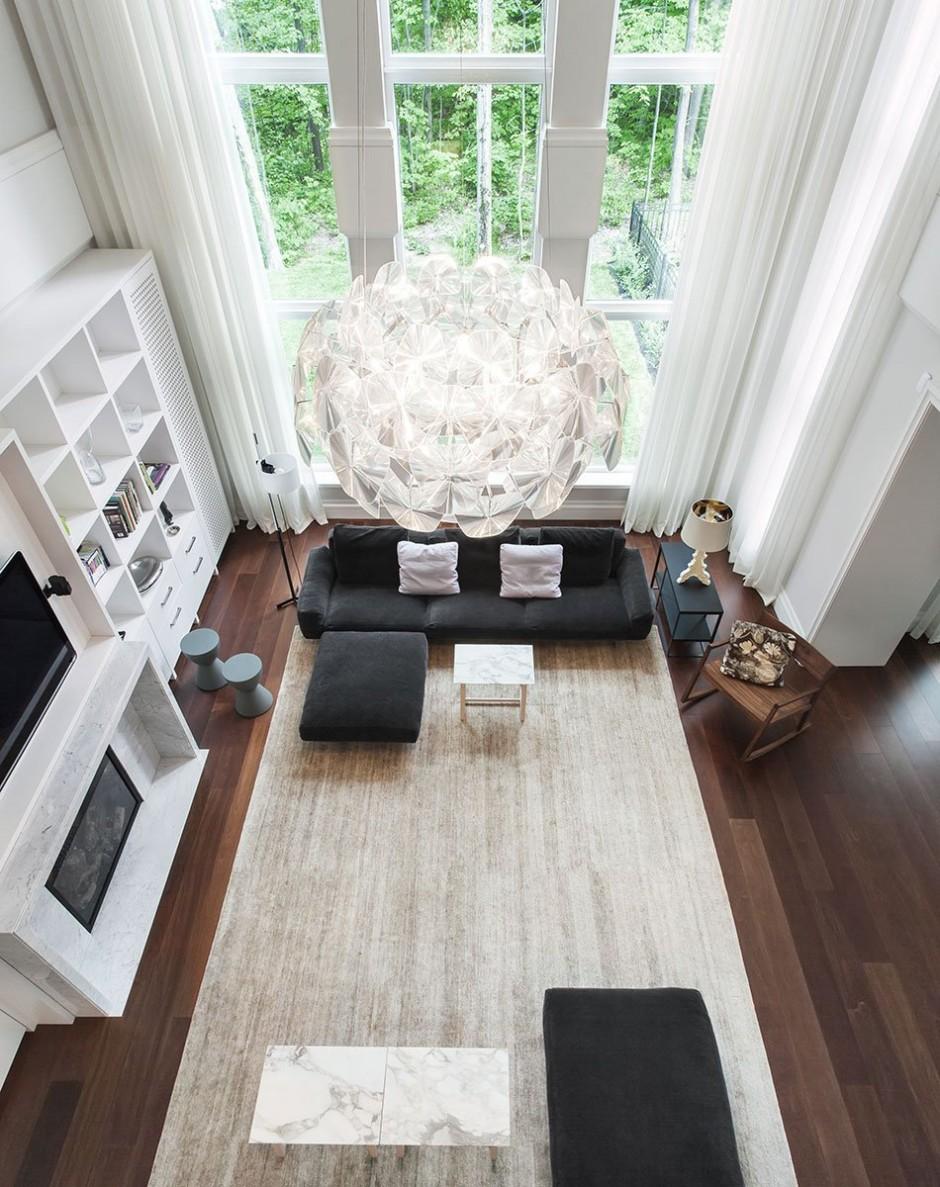 Deco Mur Salon Noir Et Blanc m-ydeas // decoration d'interieur: une décoration