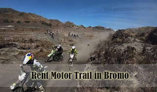 Rent Motor Trail in Bromo