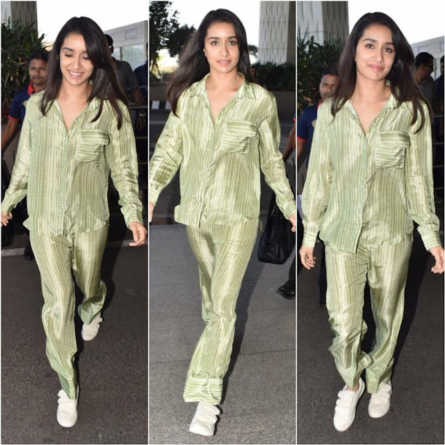 Shraddha Kapoor at The Airport