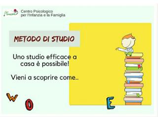 Metodo di studio: centro Psicologico Milano