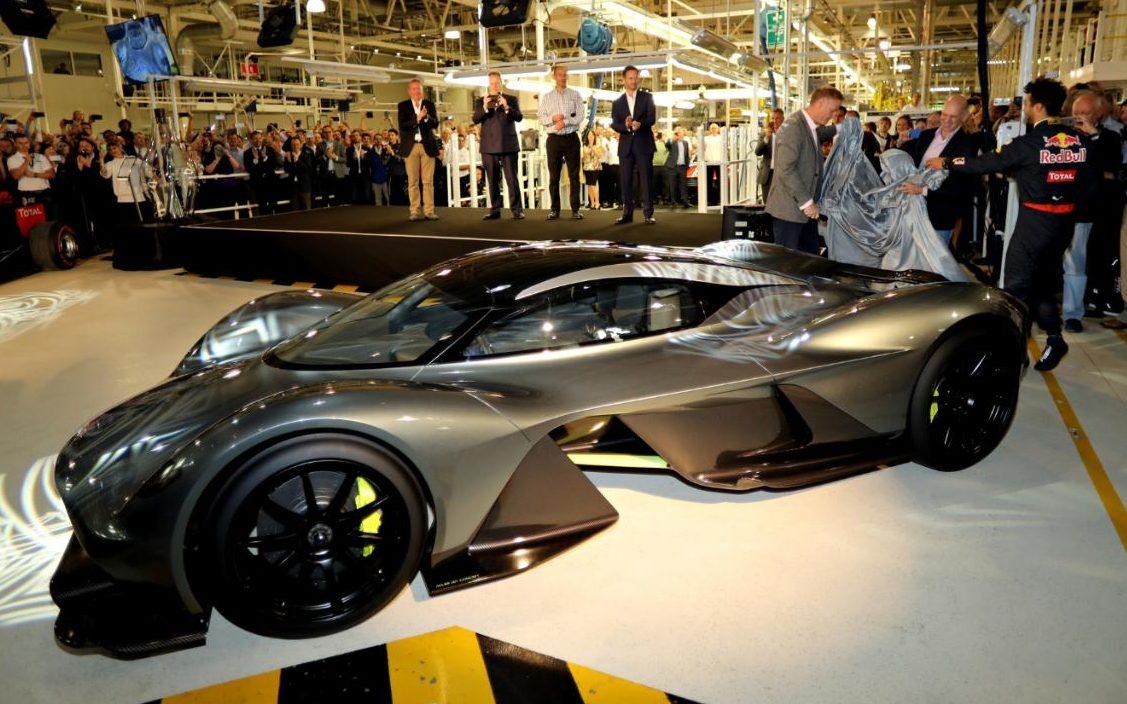 Trussty Jasmine This Is How The Aston Martin Valkyrie Hypercar Looks
