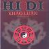 Hi Di Khảo Luận (Hy Dy Trần Đoàn Khảo Luận) - Dương Thành