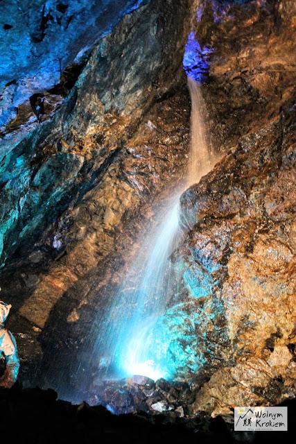 Podziemny Wodospad w Złotym Stoku