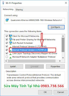 Sửa lỗi Limited access khi bắt wifi - H04
