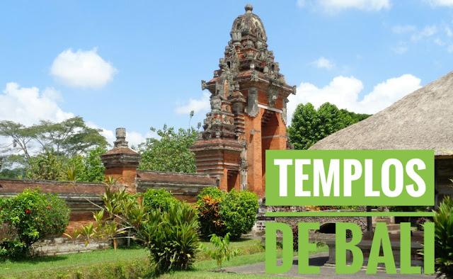 Templos de Bali mapa y fotos