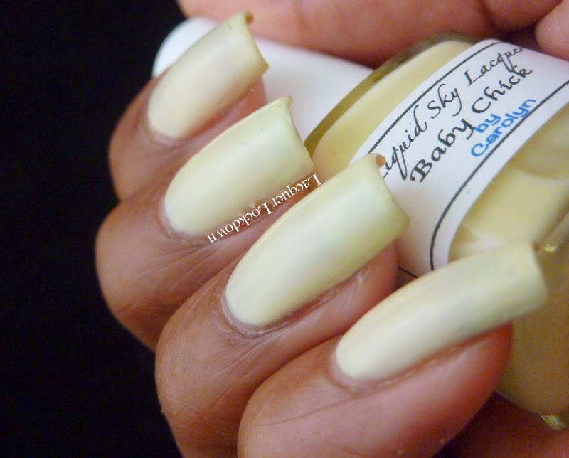 Lacquer Lockdown - Liquid Sky Lacquer Baby Chick