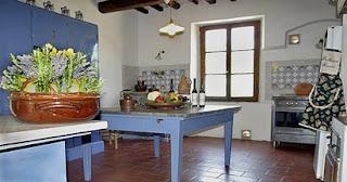 cucina - Curso de cerâmica na Toscana