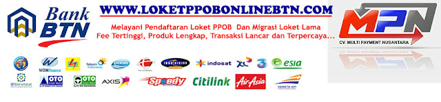 Loket PPOB Online BTN