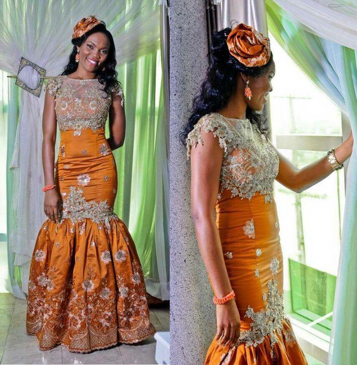 Nigerian Wedding Dress Designs: Creative African Wear For Traditional Wedding