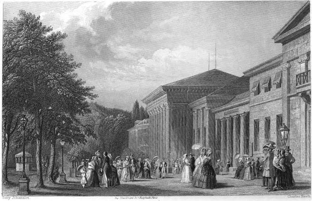 Баден-Баден - летняя столица Европы., XIX век