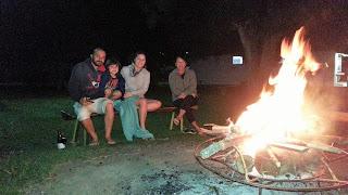 local para fogueira - Camping Canarinho