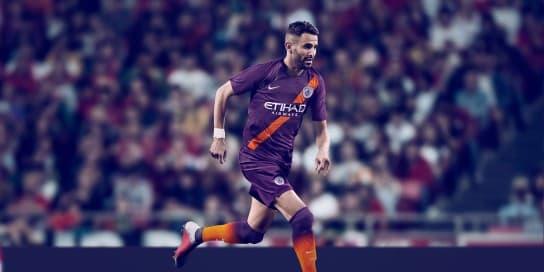 マンチェスター・シティFC 2018-19 ユニフォーム-サード-リヤド・マフレズ